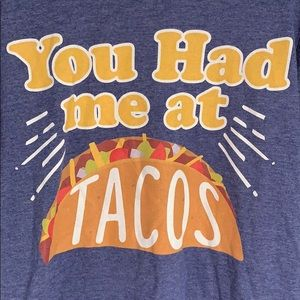 Anvil You Had Me At Tacos Graphic Tee
